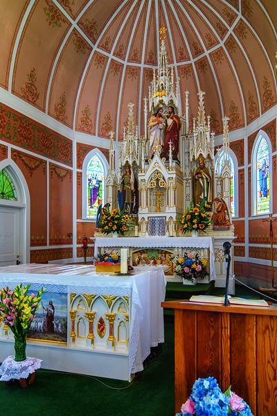 Altar of St. John the Baptist Church