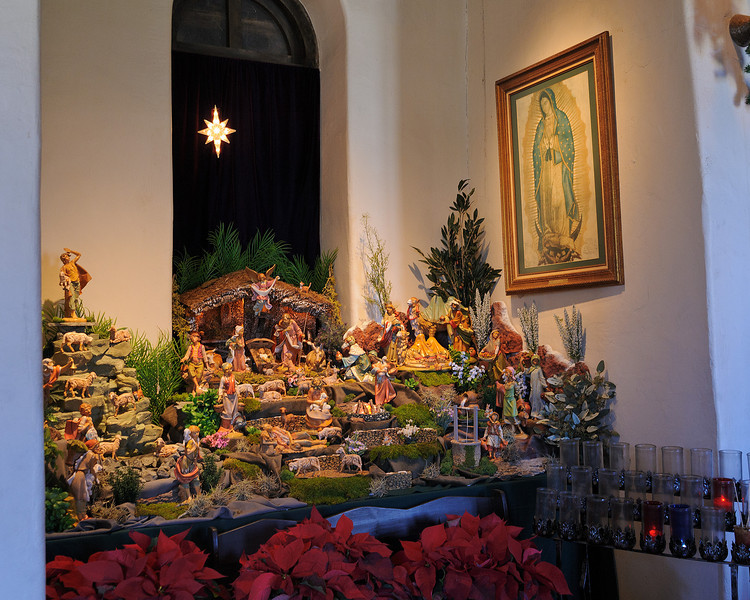 Espada Nativity Scene