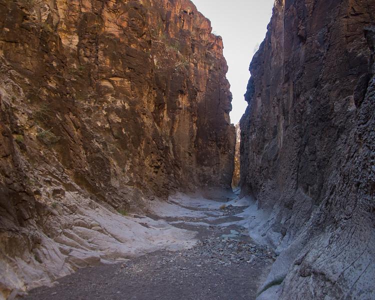 Closed Canyon Walls