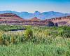Chisos Mountains and Rio Grande River