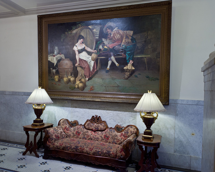 Furniture and Art at the Menger