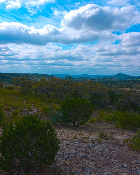 Hill Country and Clouds