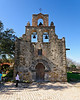 Front of Mission Espada in San Antonio