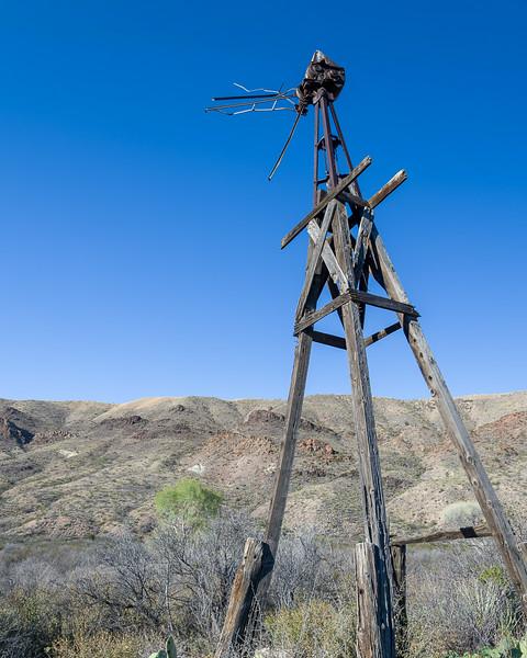 Windmill Ruins at Sam Nail Ranch