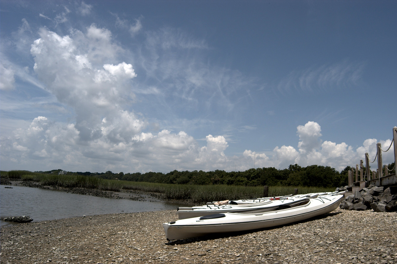 Kayaks in Hilton Head, SC