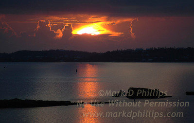 Sunrise over Bermuda