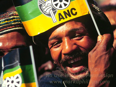 ANC Rally in Cape Town South Africa
