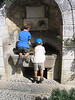 Boys in Carros fountain Sep2003