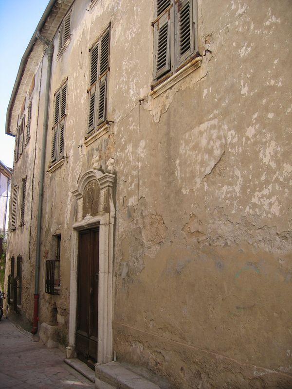 St Jeannet village scene