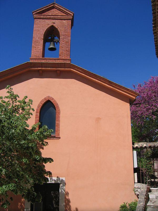 Old chapel in St Jeannet