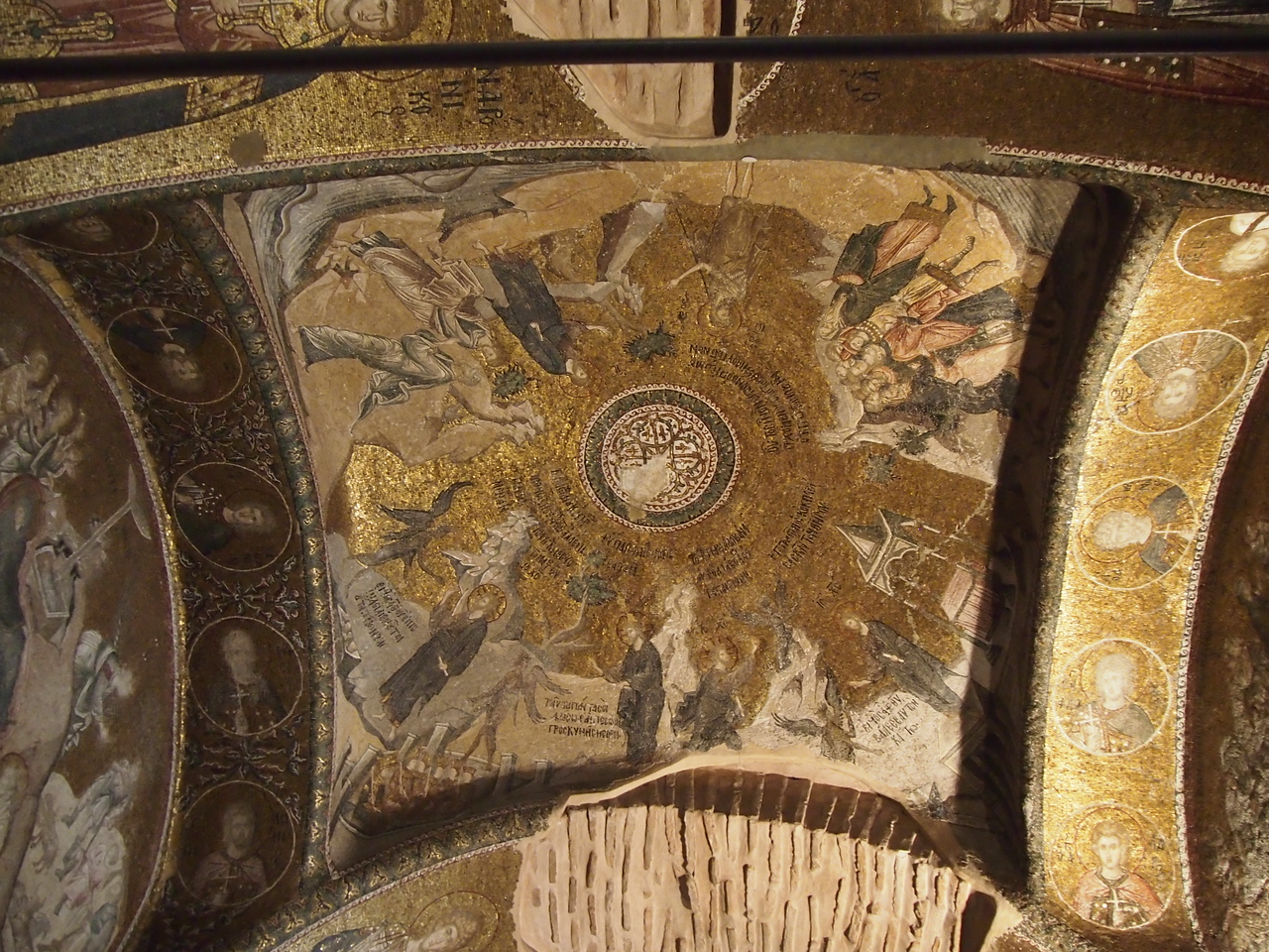 Mosaics and frescoes at the Chora Church/Kariye Museum