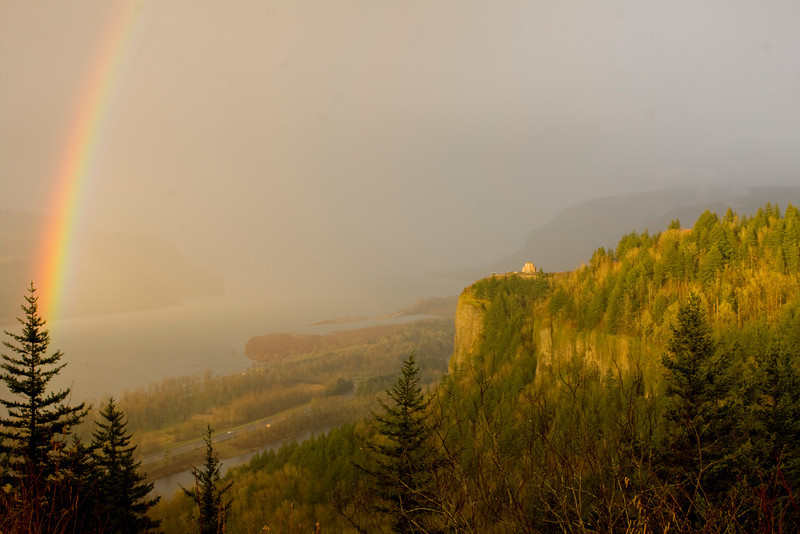 Sunbreak at Crown Point, Columbia Gorge