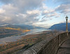 View from Crown Point Vista House, Columbia Gorge, Oregon