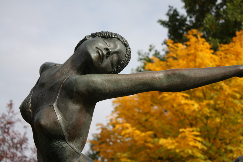 The Ballerina, Central Park, Corvallis, Oregon