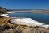 Salt flats of Lake Abert, Oregon