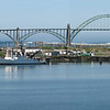 The Wecoma docked at Hatfield Marine Sciences Center, Yaquina Bay, Newport, OR