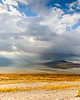 A Cloudy Day at the Great Salt Lake