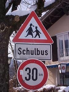 Around the World: Children Crossing Signs