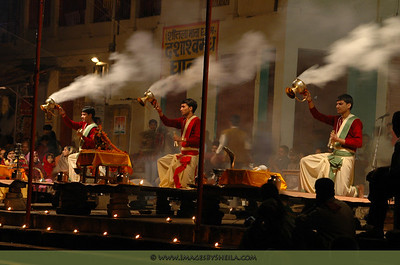 Hindu rituals at Varanasi, India