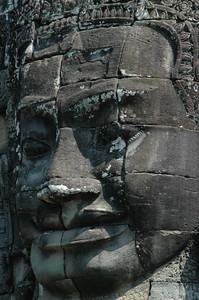 Face of Buddha, Bayon - Angkor Wat (Cambodia)