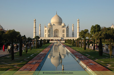 The infamous Taj Mahal (Agra, India)