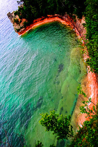 Miner's Castle, Apostle Islands, Wisconsin