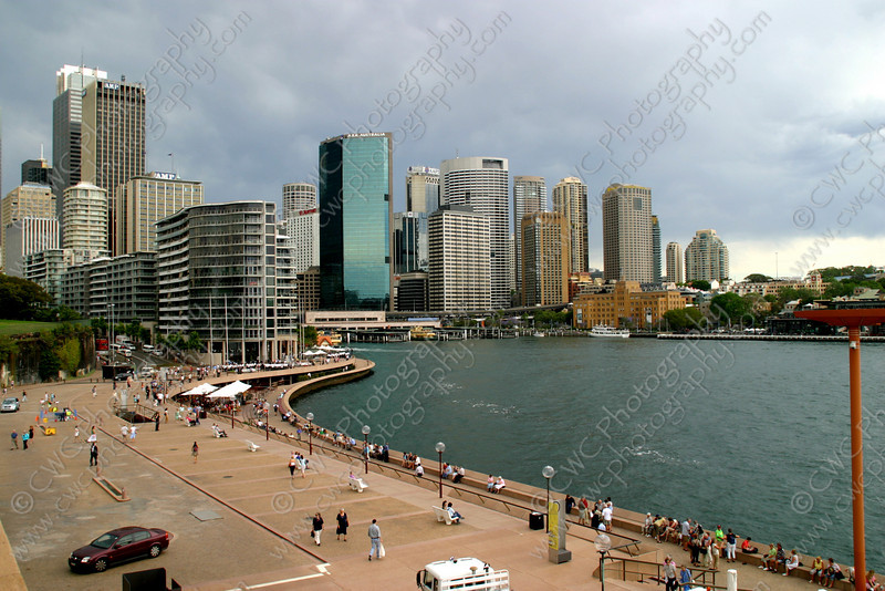 "2190-The skyline and harbor at Sydney, Australia <a href=""http://www.cwcphotography.com/gallery/1199387"">(8x12)</a>"