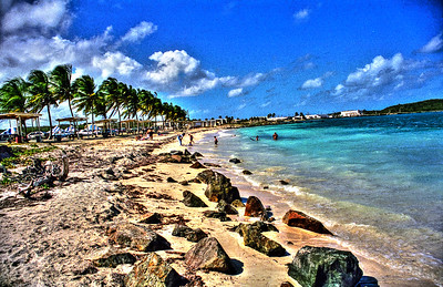 Roosevelt Roads Naval Station Beach, Puerto Rico