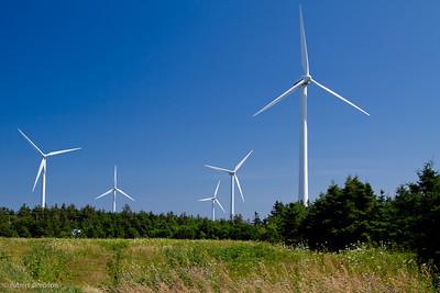 North Cape, PEI wind farm.
