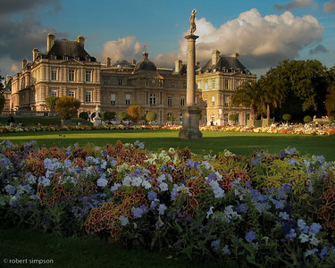 The absolutely beautiful gardens of Jardin Du Luxembourg.