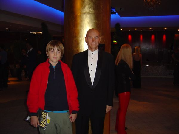 Me with Captain Picard from Star Trek!! WOOO!! I'm such a nerd :)!! Actually it's at Mme Tussaud's wax museum....could you tell?? The figures are insanely realistic!!