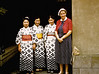 Mother with waitresses - Japan