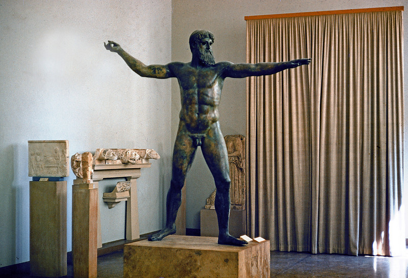 Early bronze Statue - Greece