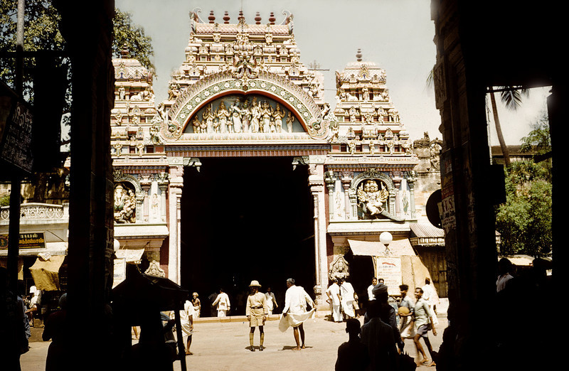 Madurai Temple entrance