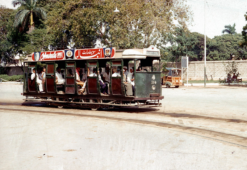 Gas powered streetcar - Pakistan