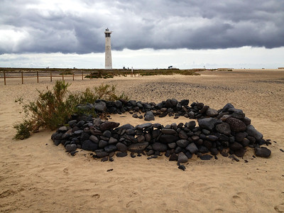 Faro,  Morro Jable, refuge contre le vent