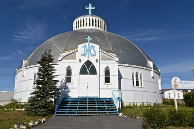 Our Lady of Victory, l'église igloo d'Inuvik.