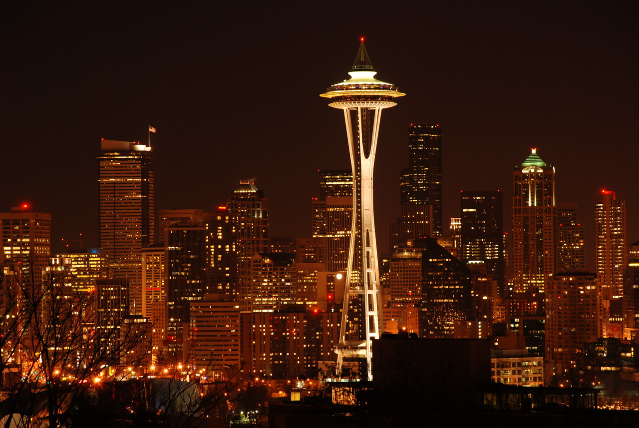 The quintessential image. Seattle, WA