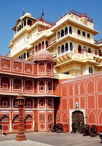 City Palace, Jaipur. One of the many, many palaces in Jaipur