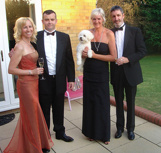Off to the St Georges ball