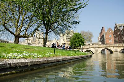 Cambridge at lunchtime