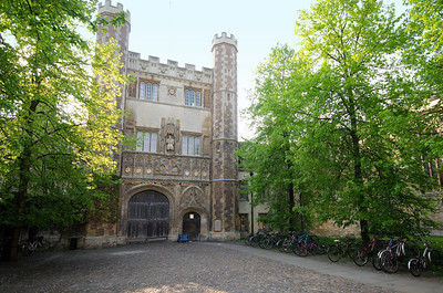 Entrance to College, Cambridge