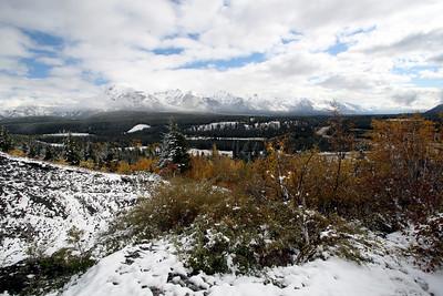 Arriving in Banff <br>09.2007