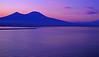 Sailing Past Mt. Vesuvius Volcano