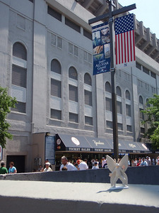 2008-06-09 outside Yankee Stadium