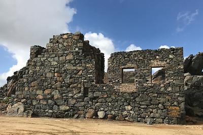Gold Mill ruins in Aruba