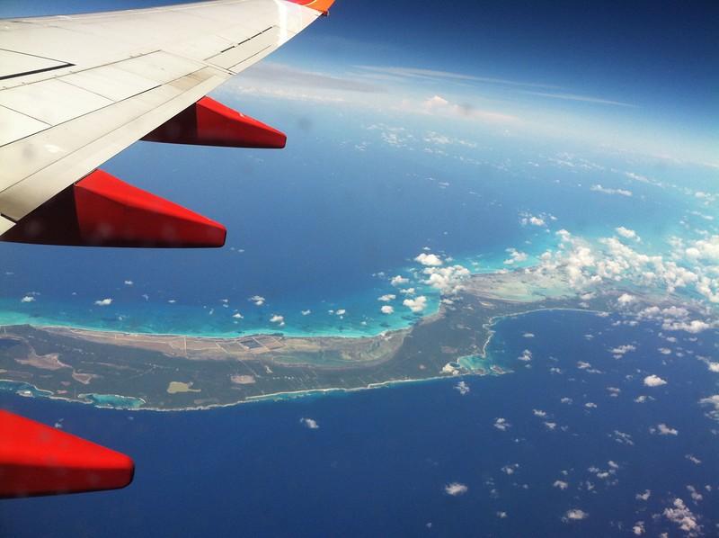 Turks & Caicos enroute Aruba