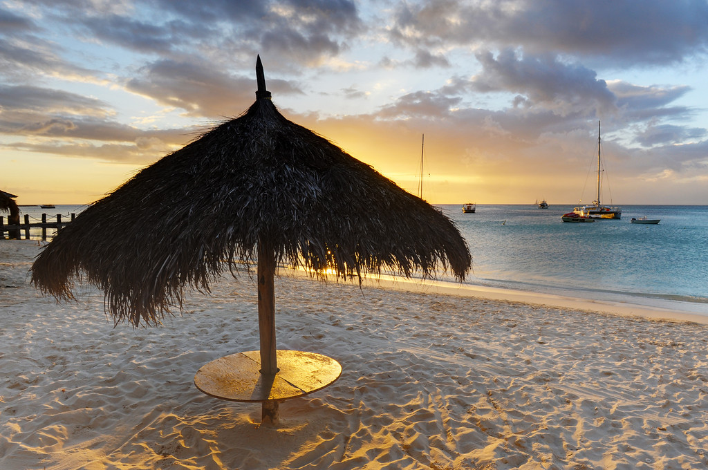 Beach table, Aruba
