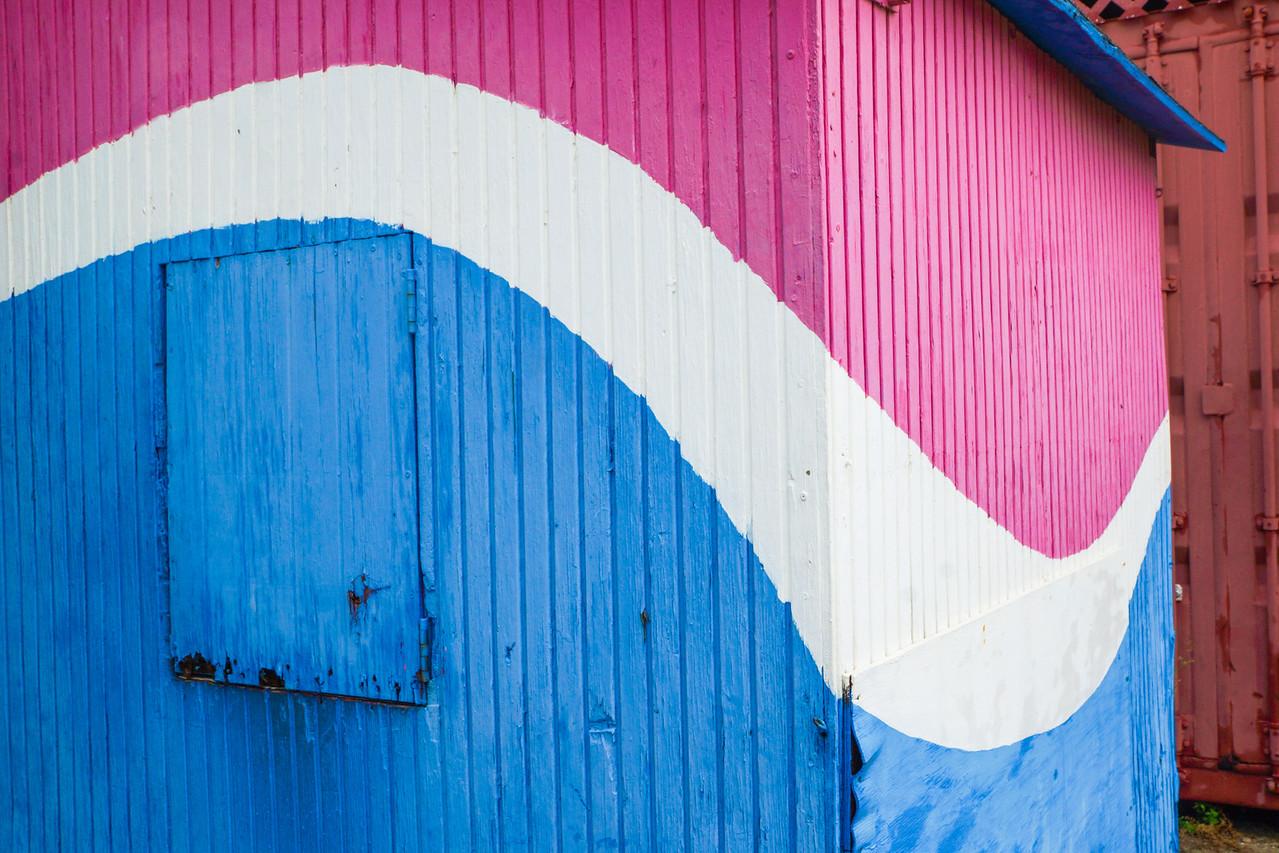 Colorful Building, Oranjestad, Aruba
