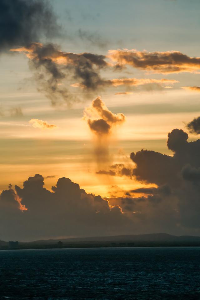 Sunrise Over Aruba